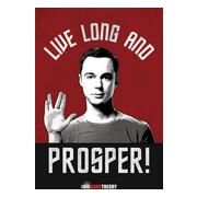big-bang-theory-affisch-live-long-and-prosper-1