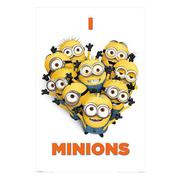 despicable-me-affisch-i-love-minions-1