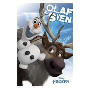 frozen-affisch-olaf-and-sven-1