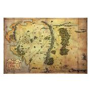 hobbit-affisch-journey-map-1