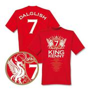 Liverpool T-shirt King Kenny Röd
