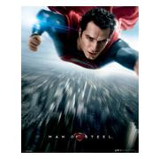 man-of-steel-miniaffisch-flying-1