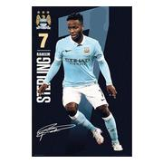 manchester-city-affisch-sterling-56-1