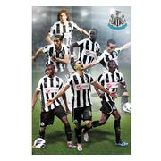 newcastle-united-affisch-players-61-1