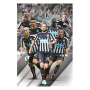 newcastle-united-affisch-players-99-1