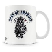 Sons Of Anarchy Mugg Stitched Patch
