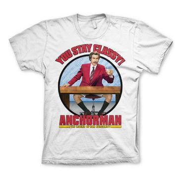 Anchorman T-shirt You Stay Classy