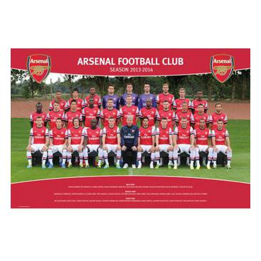 Arsenal Affisch Squad 51