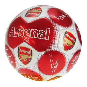 Arsenal Fotboll Signature