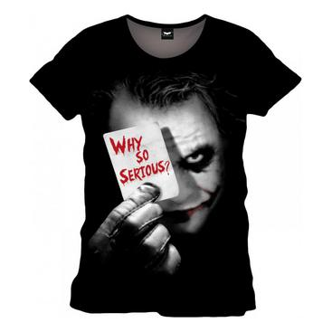 Batman Dark Knight T-shirt Joker Why So Serious