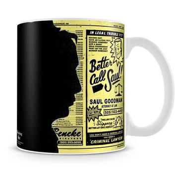 Breaking Bad Mugg Saul Goodman Ad