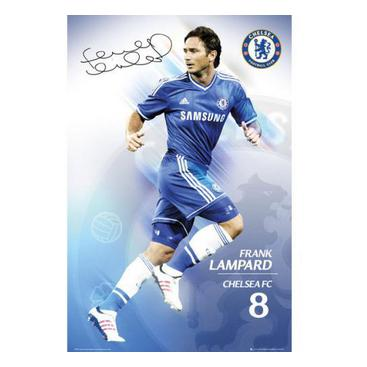 Chelsea Affisch Lampard 29