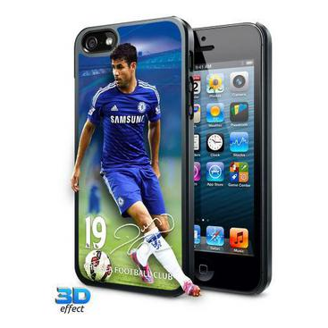 Chelsea Iphone-5-skal 3d Diego Costa 19