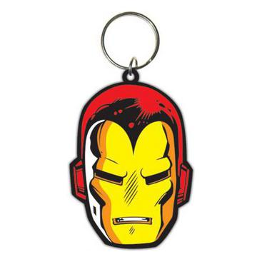 Iron Man Nyckelring Face