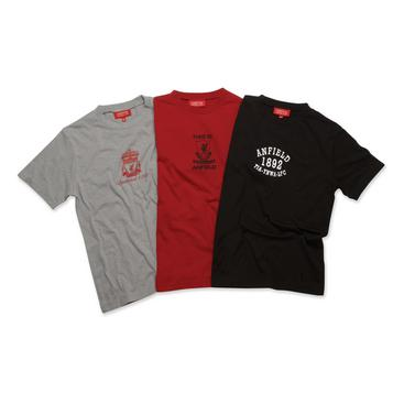 Liverpool T-shirt 3-pack Barn Ungdom