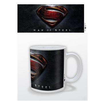 Man Of Steel Mugg 3d Logo