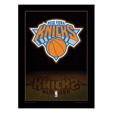 New York Knicks Inramad Bild Logo