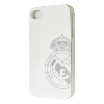 Real Madrid Iphone 4/4s Skal Hårt Vitt