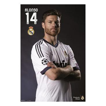 Real Madrid Affisch Alonso 117