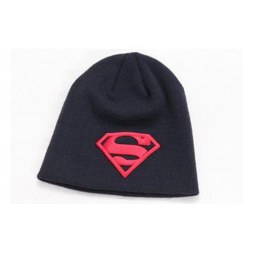 Superman Mössa Red Logo Svart