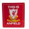 Liverpool Skylt This Is Anfield Stor