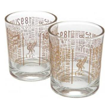 Liverpool Whiskeyglas Text 2-pack