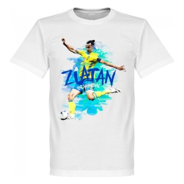 Sverige T-shirt Zlatan Motion Barn
