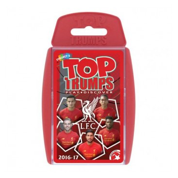 Liverpool Top Trumps 2016-17