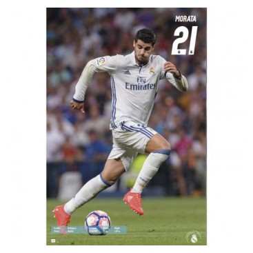 Real Madrid Affisch Morata 55