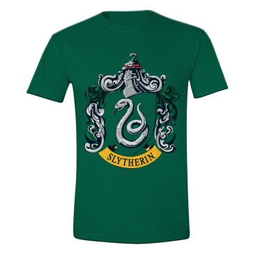 Harry Potter T-shirt Slytherin Crest Grön
