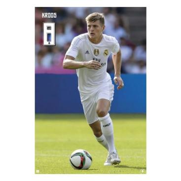 Real Madrid Affisch Kroos 60
