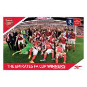 Arsenal Affisch Fa Cup Winners 4