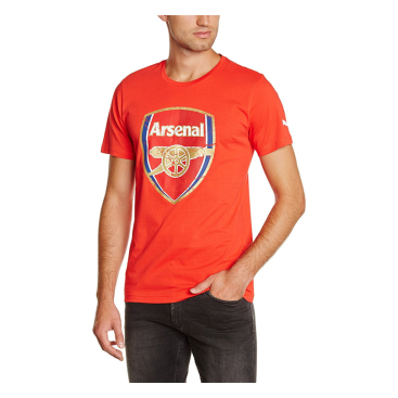 Arsenal T-shirt C-crest Röd