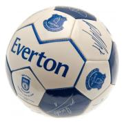 Everton Fotboll Signature