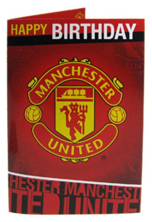 gratulationskort med musik Manchester United Gratulationskort Musik gratulationskort med musik