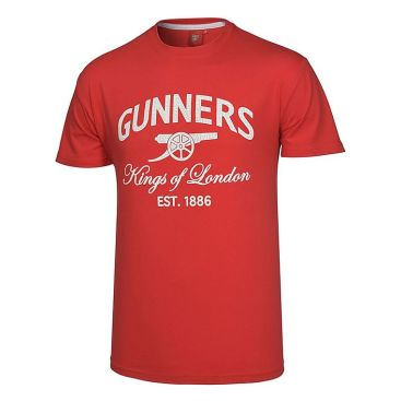 Arsenal T-shirt Kings Of London Röd