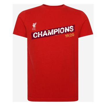 Liverpool T-shirt League Champions 19/20 Barn