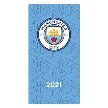 Manchester City Pocketdagbok 2021
