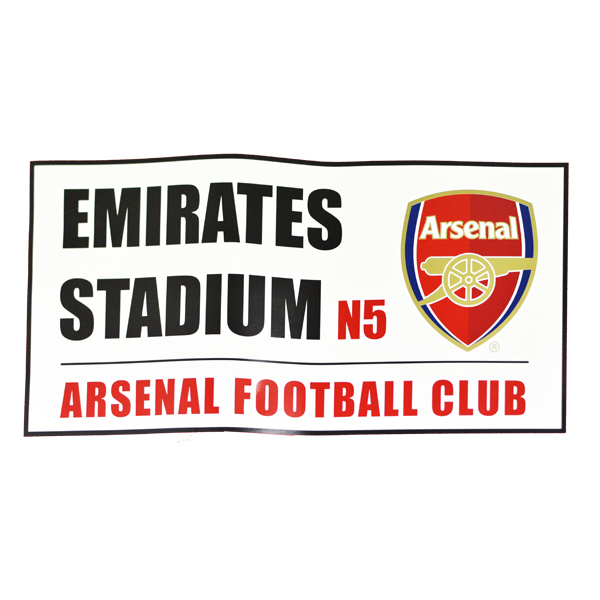 Arsenal Badlakan Street Sign