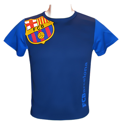 Barcelona T-shirt Träning Junior Blå SB (65-70cm)