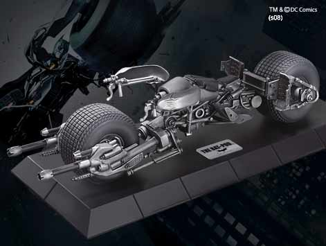 Batman Skulptur Bat-Pod Die-Cast