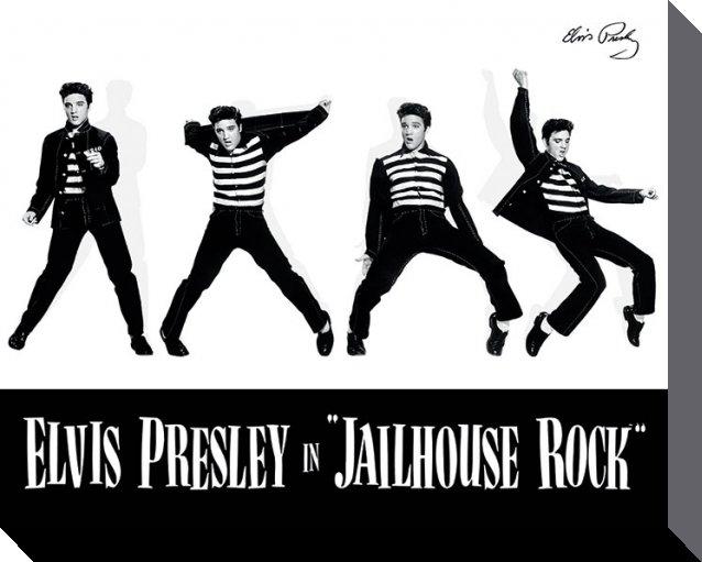 Elvis Canvastryck Jailhouse Rock
