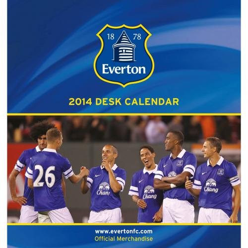 Everton Skrivbordskalender 2014