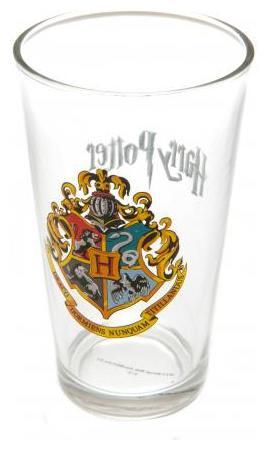Harry Potter Dricksglas Hogwart 1-pack
