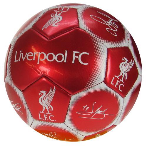 Liverpool Fotboll Signature