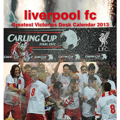 Liverpool Skrivbordskalender 2013