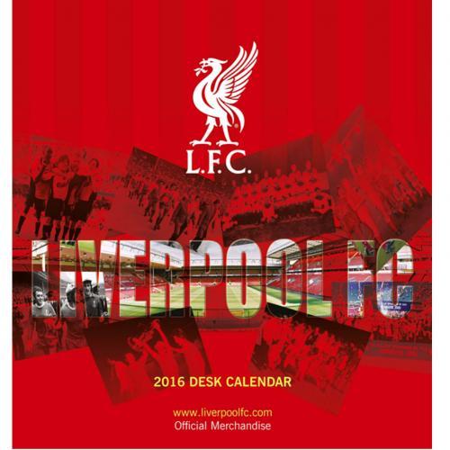 Liverpool Skrivbordskalender 2016