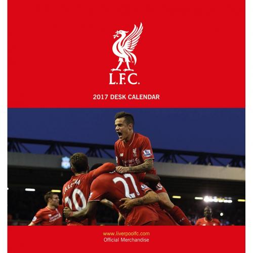 Liverpool Skrivbordskalender 2017