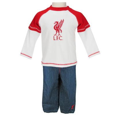Liverpool T-shirt och Jeans 3-6 mån