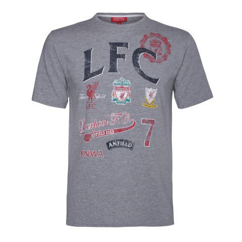 Liverpool T-shirt Tobi Grå S